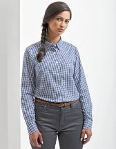 Maxton Check Womens Long Sleeve Shirt